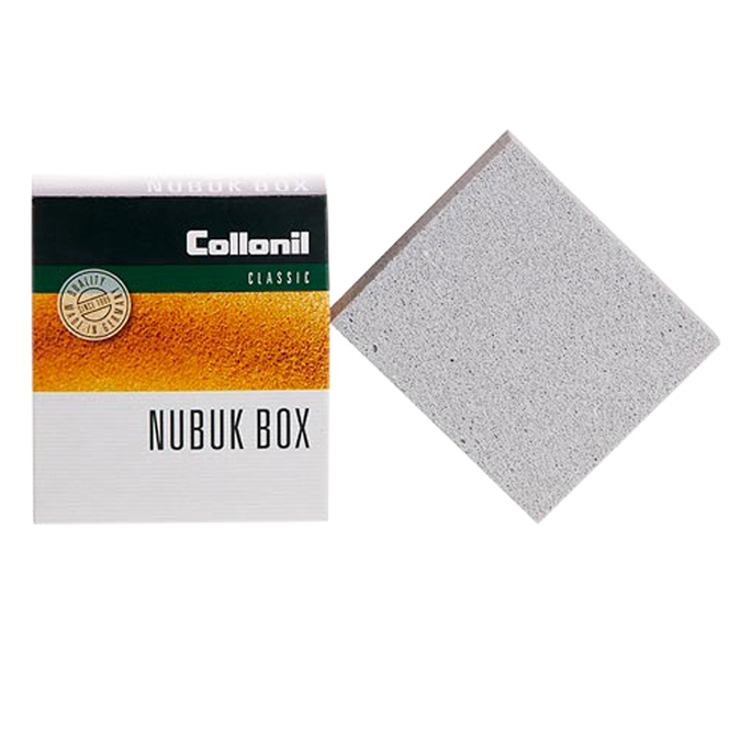 Cleaning crepe rubber for suede and nubuck leathers collonil, neutral, black , 902-6038 - 13