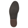 Casual leather shoes with decoration conhpol, blue , 826-7726 - 26