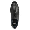 Leather Men's Shoes climatec, black , 824-6111 - 19