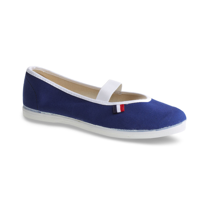 Kids' gym shoes bata, blue , 479-9100 - 13