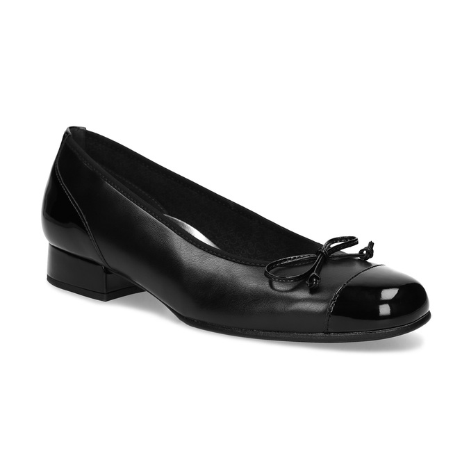 Pumps gabor, black , 524-6452 - 13