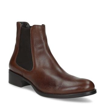 Leather Chelsea footwear bata, brown , 594-4448 - 13