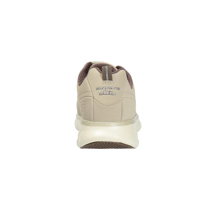 Ladies' leather sneakers skechers, beige , 503-3323 - 17