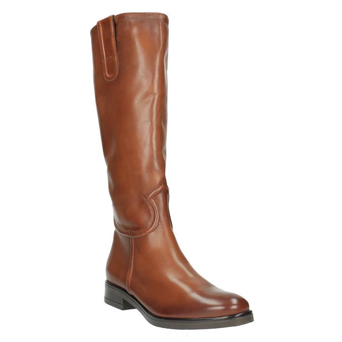 Ladies´ leather Cossacks bata, brown , 596-4608 - 13