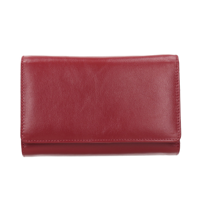 Ladies' leather  purse, red , 944-5168 - 26
