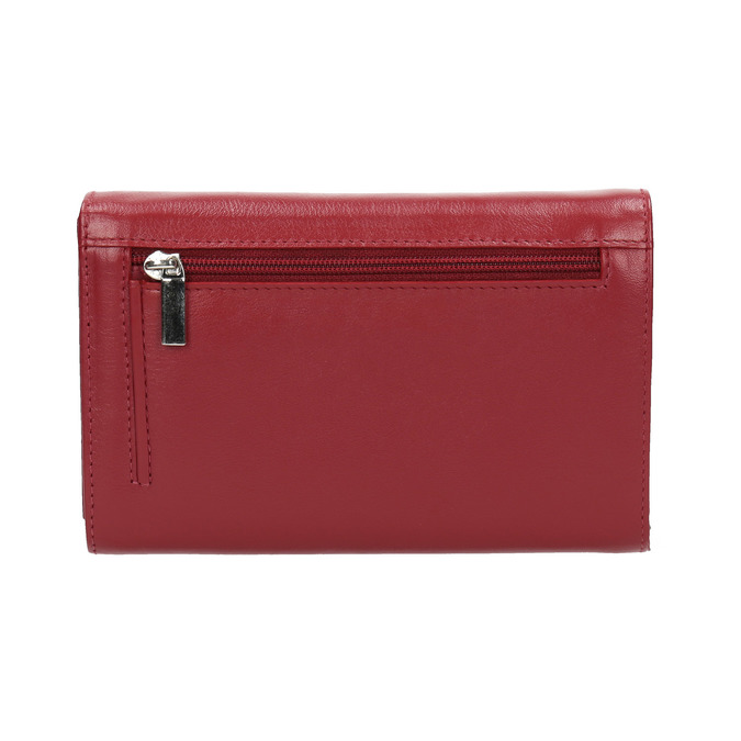 Ladies' leather  purse, red , 944-5168 - 19
