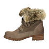 Ladies' winter boots with fur bata, brown , 591-3605 - 26
