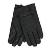 Men´s gloves with a strip bata, black , 909-6297 - 13