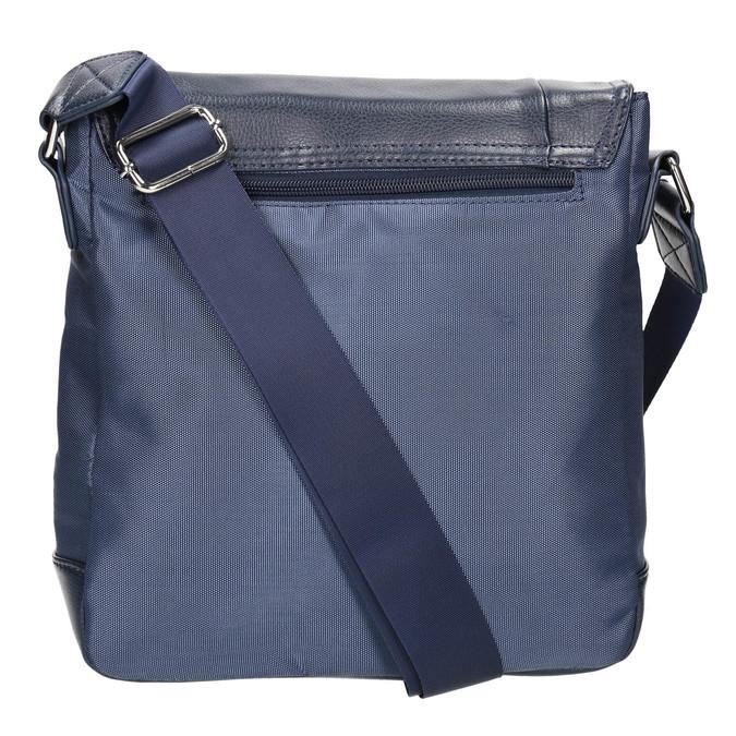Men's crossbody-style bag bata, blue , 961-9508 - 19