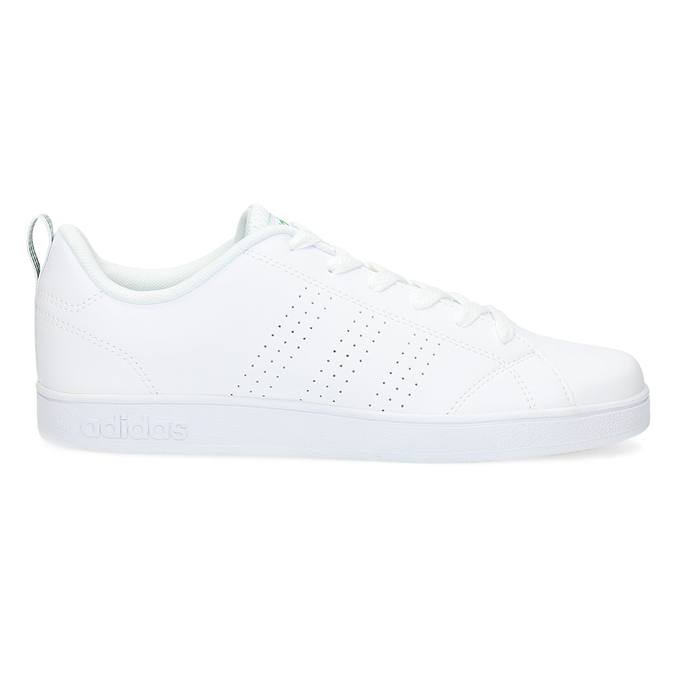 White children's sneakers adidas, white , 401-1233 - 19
