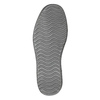 Casual leather shoes bata, gray , 853-2612 - 17