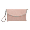 Pink clutch, pink , 961-5708 - 26