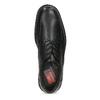Black leather shoes, black , 824-6451 - 17
