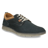 Casual leather shoes, blue , 846-9654 - 13