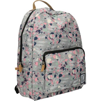 Backpack with Colourful Pattern, gray , 969-2085 - 13
