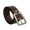 Men's brown belt bata, brown , 954-4190 - 13