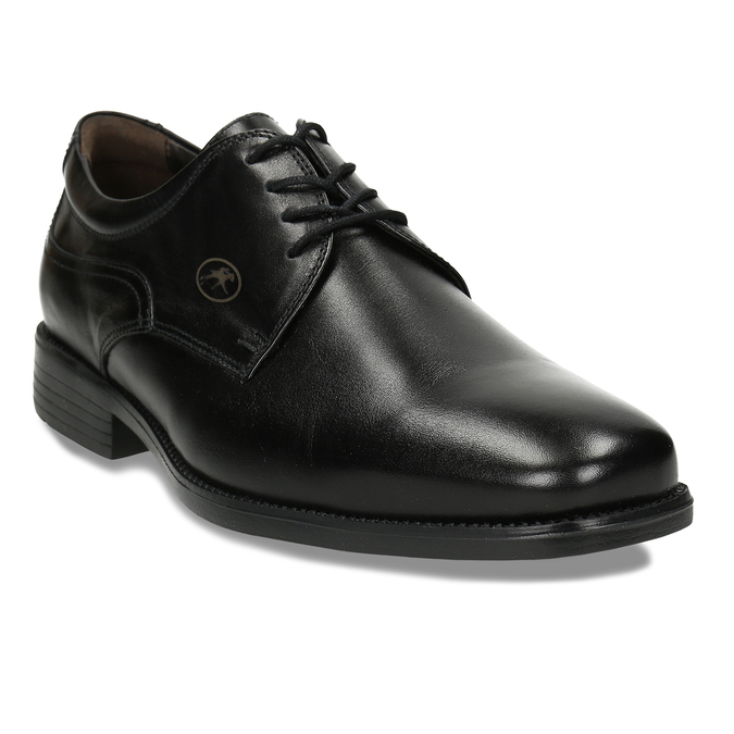Men's Leather Derby Shoes, black , 824-6440 - 13