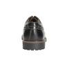 Men's leather shoes bata, black , 826-6619 - 17
