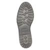 Men's leather shoes bata, black , 826-6619 - 26