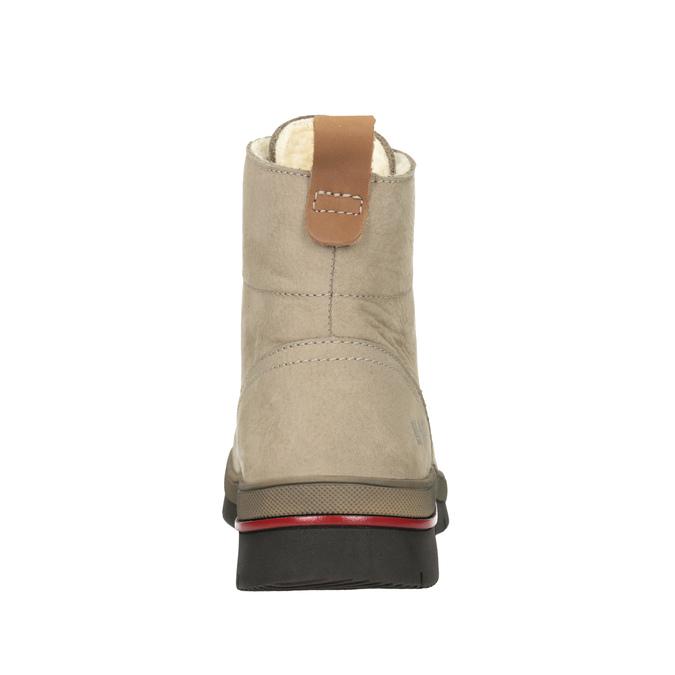 Ladies' Winter Ankle Boots weinbrenner, brown , 596-3666 - 16