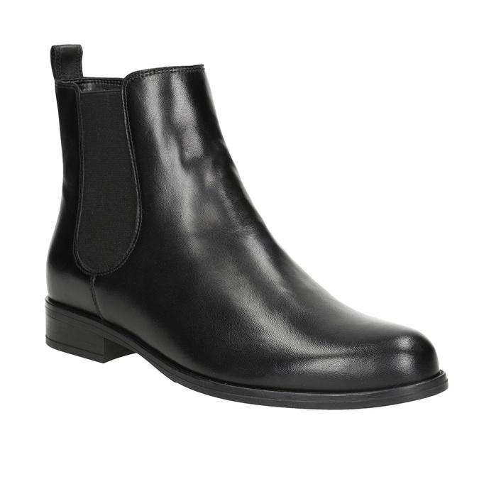 Ladies' Leather Chelsea Boots, black , 594-6661 - 13